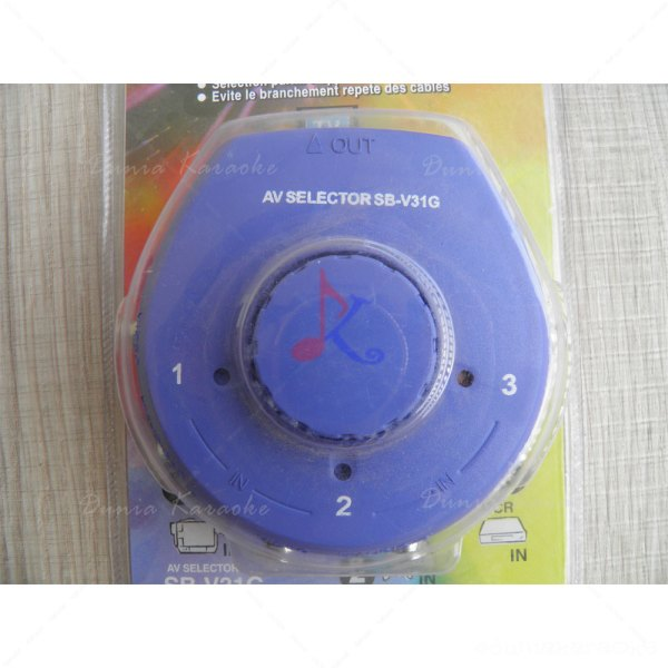 Audio Video Selektor SB V31G