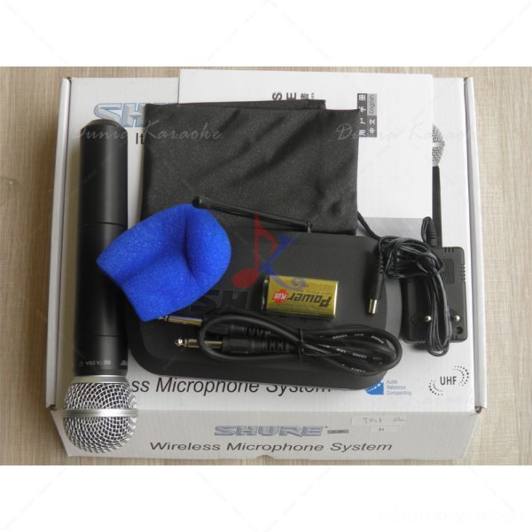 Mic Wireless Shure PG 4 (single mic)