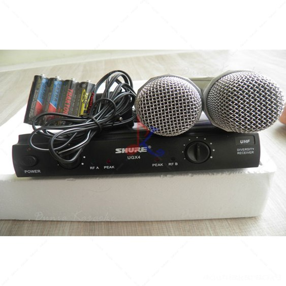 Mic Wireless Shure UGX 4