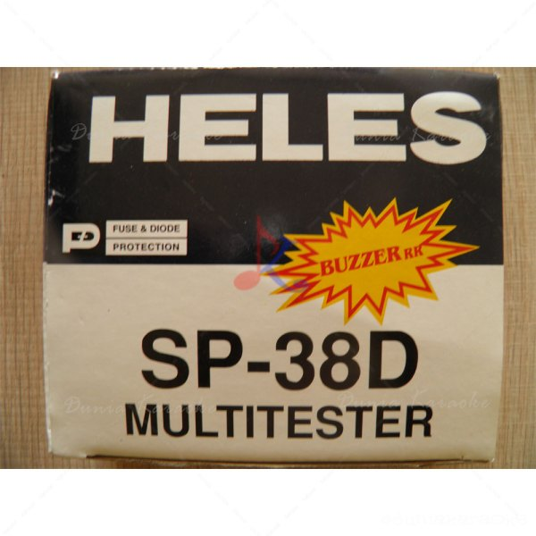 Multitester Heles SP-38D Fuse & Diode Protection with Buzzer