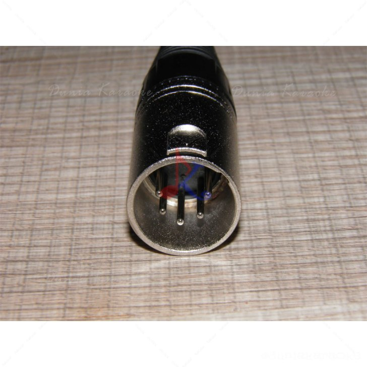 Jack XLR 5 Pin Male Connector