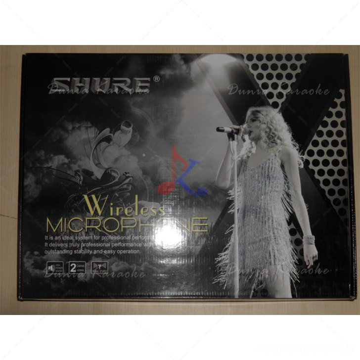 Microphone Wireless Shure UR2D Black Edition