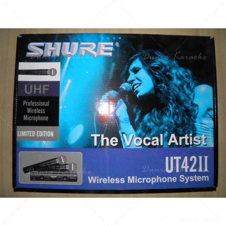 Mic Wireless Shure UT 42 MK II Value Series