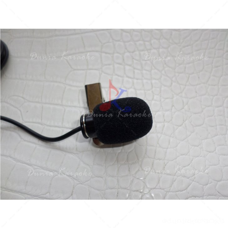 Busa Mic 3.5 Cm Diameter 1 Cm Microphone Windscreen Foam Cover
