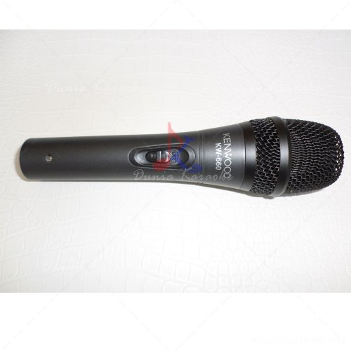 Mic Kabel Kenwood KW 660 Professional Of Dynamic Microphone