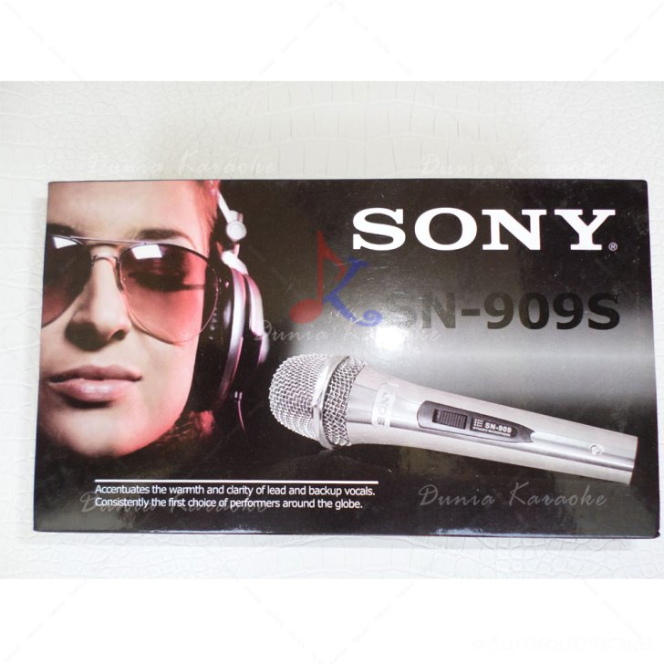 Mic Kabel Sony SN 909s Legendary Vocal Wire Microphone