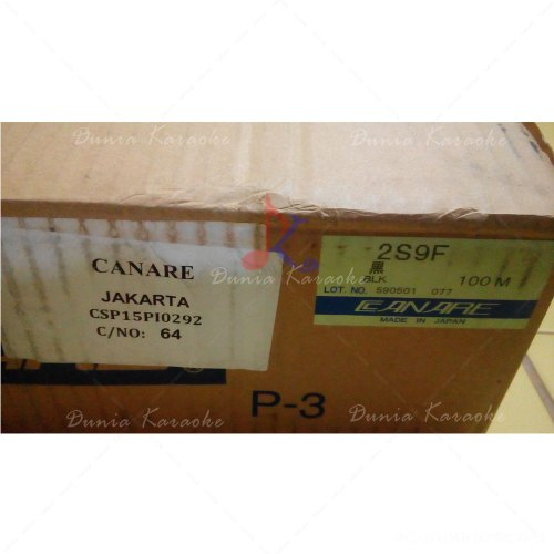 Kabel Speaker Canare 2S9F Roll Speaker Cable Made In Japan