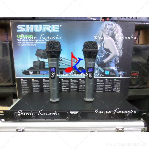Microphone Wireless Shure UR 66D