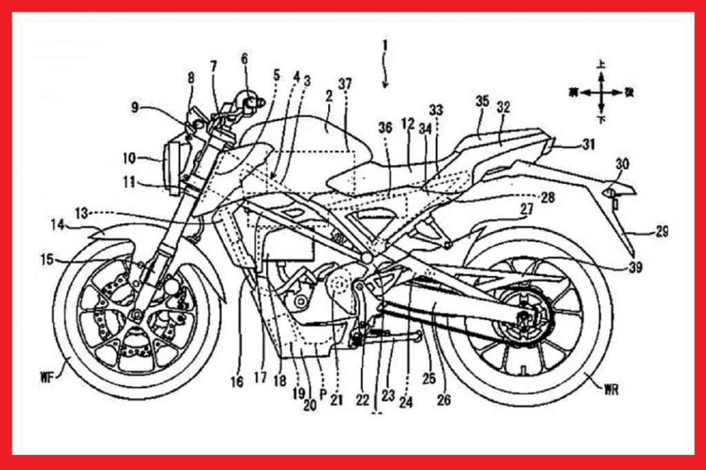 motor listrik honda mirip cb125r