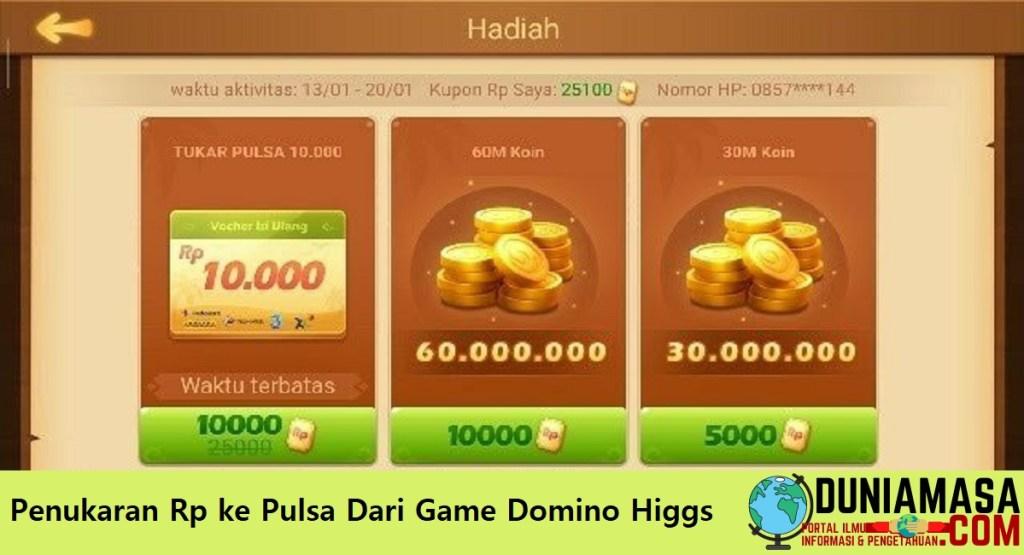 Domino higgs island