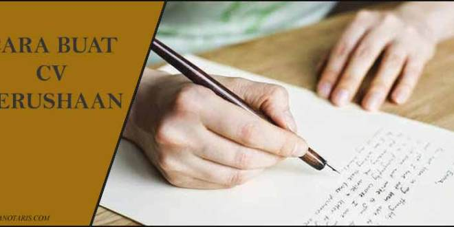 Butuh Prosedur Pembuatan CV Ikuti Tata Cara Buat CV Perusahaan Berikut