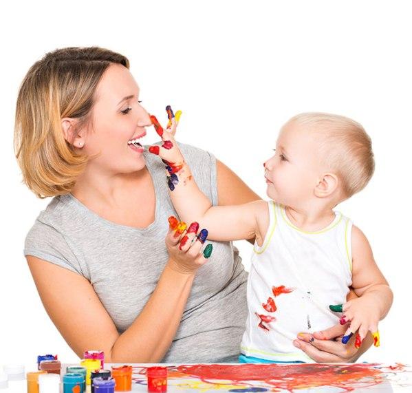jugar con hijo