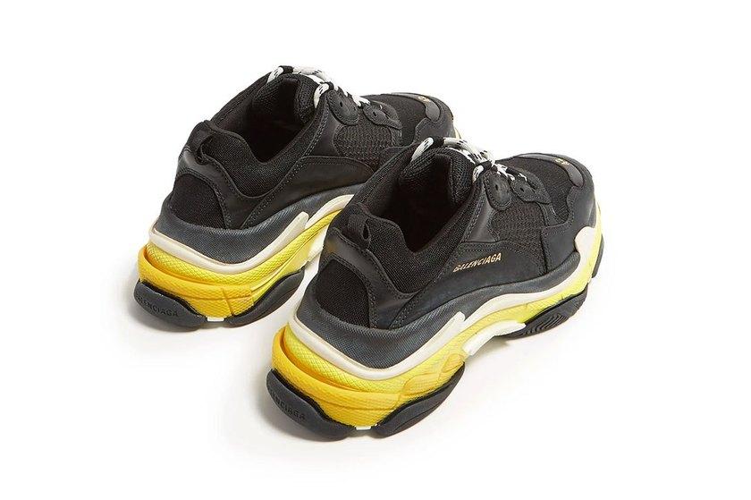 Balenciaga Triple S 全新黑黃配色上架   當客 球鞋資訊 跑鞋資訊 運動裝備資訊