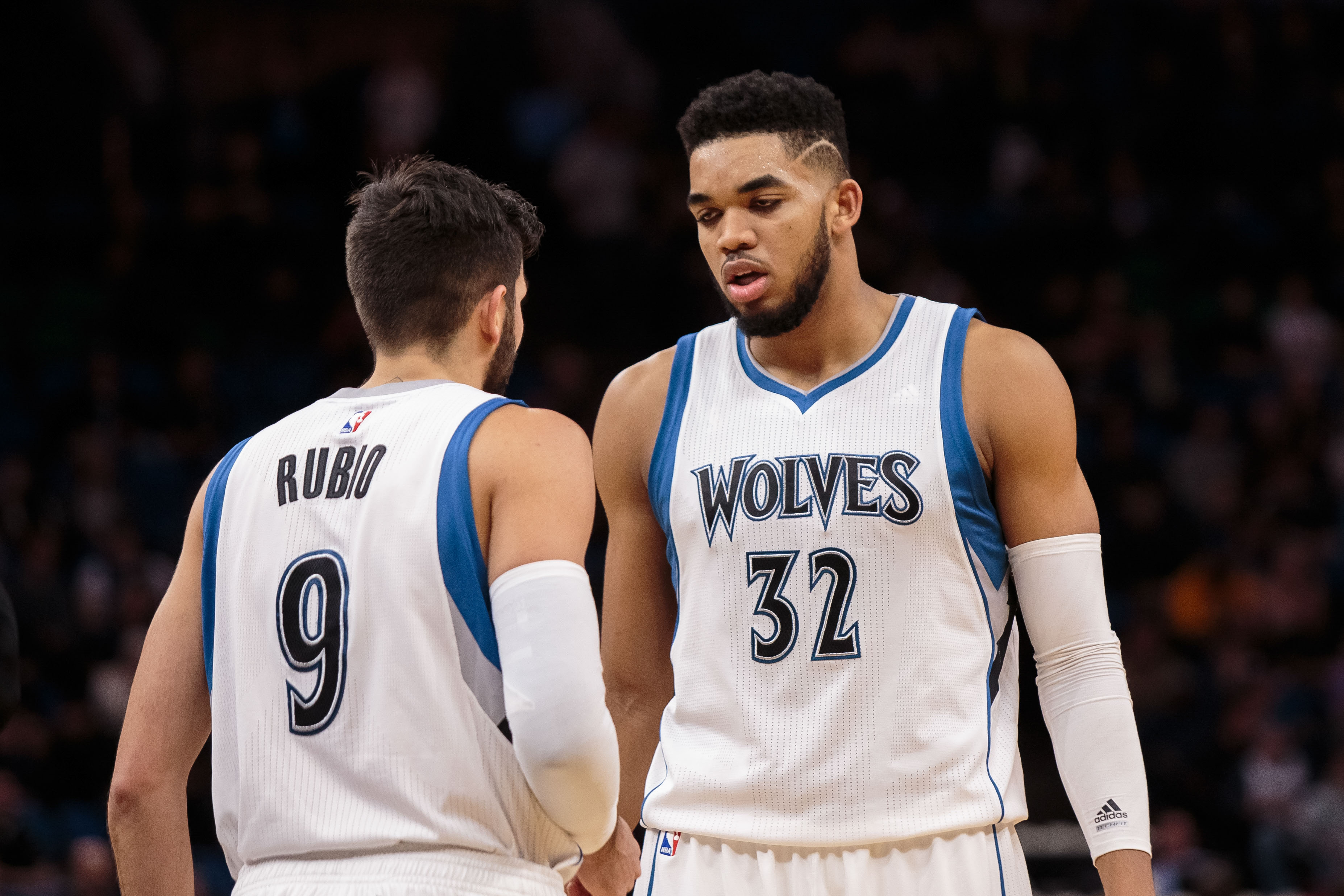 Karl Anthony Towns Haircut 2017