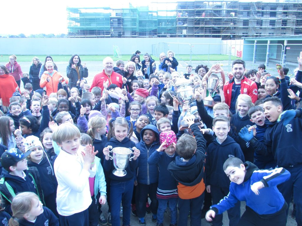 Visit from Cuala GAA