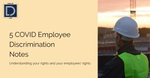 5 Employee Discrimination Notes