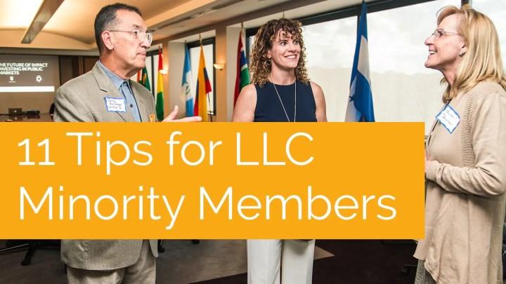 LLC Minority Member