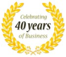 Image result for celebrating 40 years in business