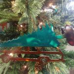 Griswold Station Wagon Tree Ornament Dunmor Metal Art