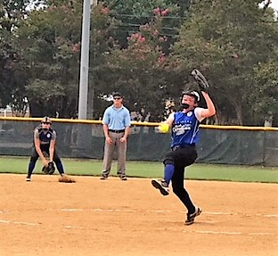 Dunn softball teams start play in Dixie Youth World Series