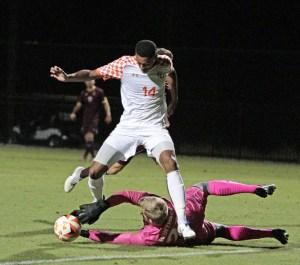 Winthrop edges Campbell in men's soccer, 1-0