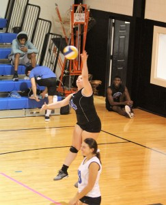 Hawks advance in league volleyball tournament with 3-1 win over S. Lee
