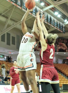 Lady Camels edge College of Charleston with buzzer beater by Davis