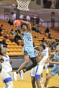 Jaguars edge Hawk boys as Overhills sweeps Tipoff finals