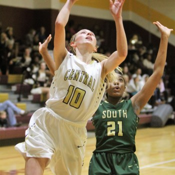 Central girls rout South