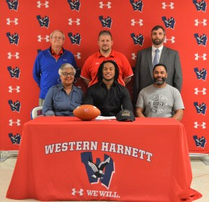 Two from Western Harnett sign for next level