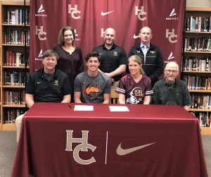 Hayden Smith signs to join Campbell football