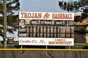 New scoreboard shows Central with 13-12 Senior Night win