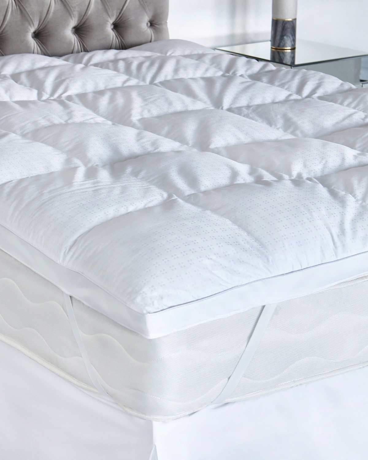 francis brennan the collection duck down and feather mattress topper