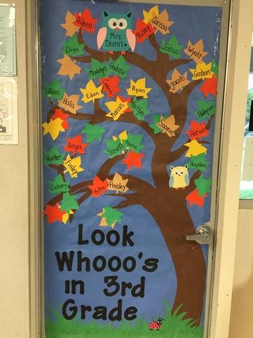 September Door Decoration