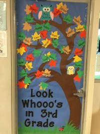 September Door Decoration