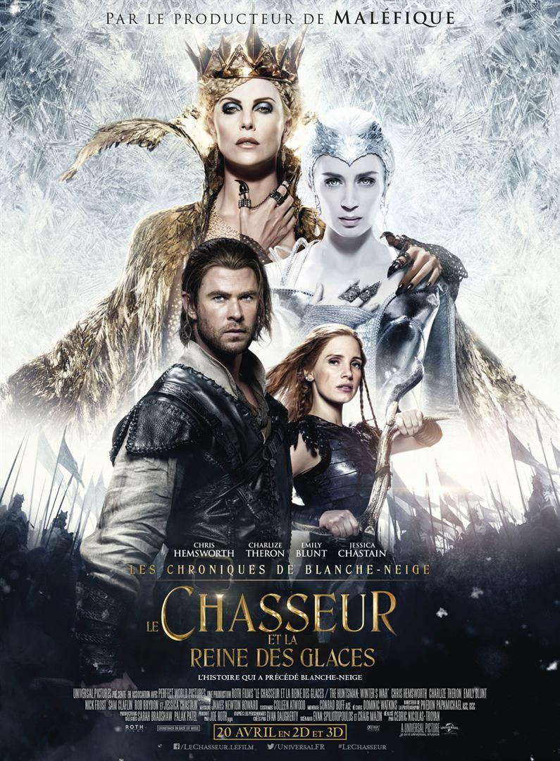 Blanche Neige Et Le Chasseur : blanche, neige, chasseur, CRITIQUE], Chasseur, Reine, Glaces,, Cédric, Nicolas-Troyan, Dunno, Movie