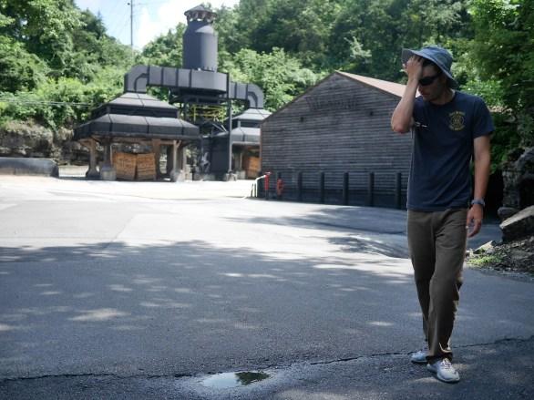La visite de la distillerie