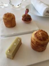Foie gras et son pain feuilleté, qui m'a rappelé mon premier Poujauran