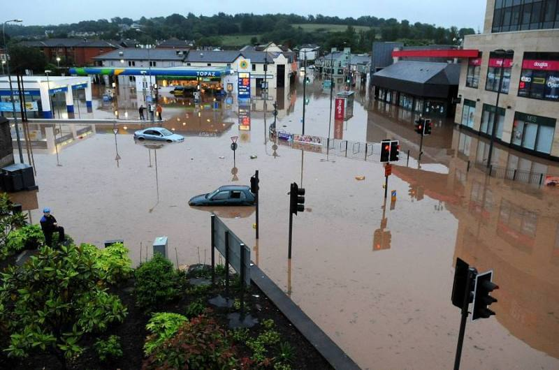 Flooding could force the closure of a business or restrict traffic and travel