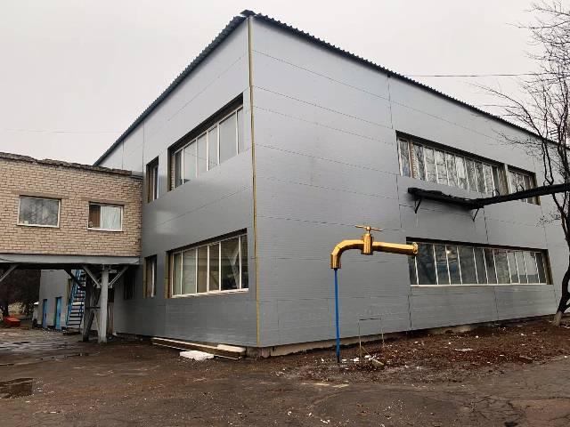 В Краматорске продолжается реконструкция помещений фильтровальной станции водоканала