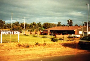 Clubhouse in the early 70s
