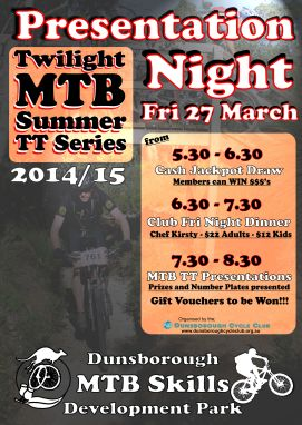 Presentation Night Poster - 27Mar15