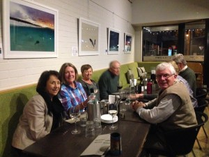 Dunsborough Tennis members at Artezen - 1 August 2015