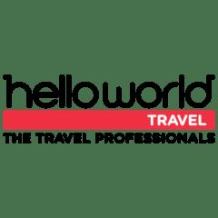 Logo of Hello World Travel