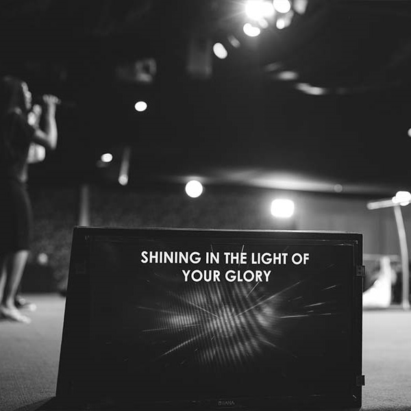 Shining in the light of your glory - Dunsin Oyekan
