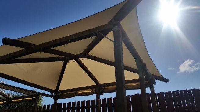Canopy Gazebo Dunster House