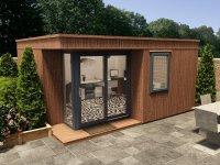 Lienne MKIII - Left W5.0m x D3.9m | Garden Offices