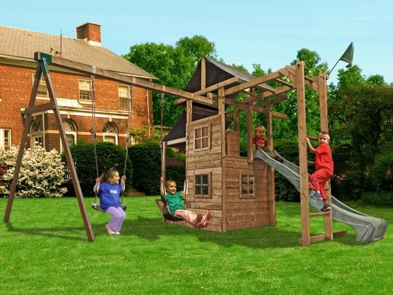 Children S Outdoor Climbing Frames And Swings | Frameswalls.org