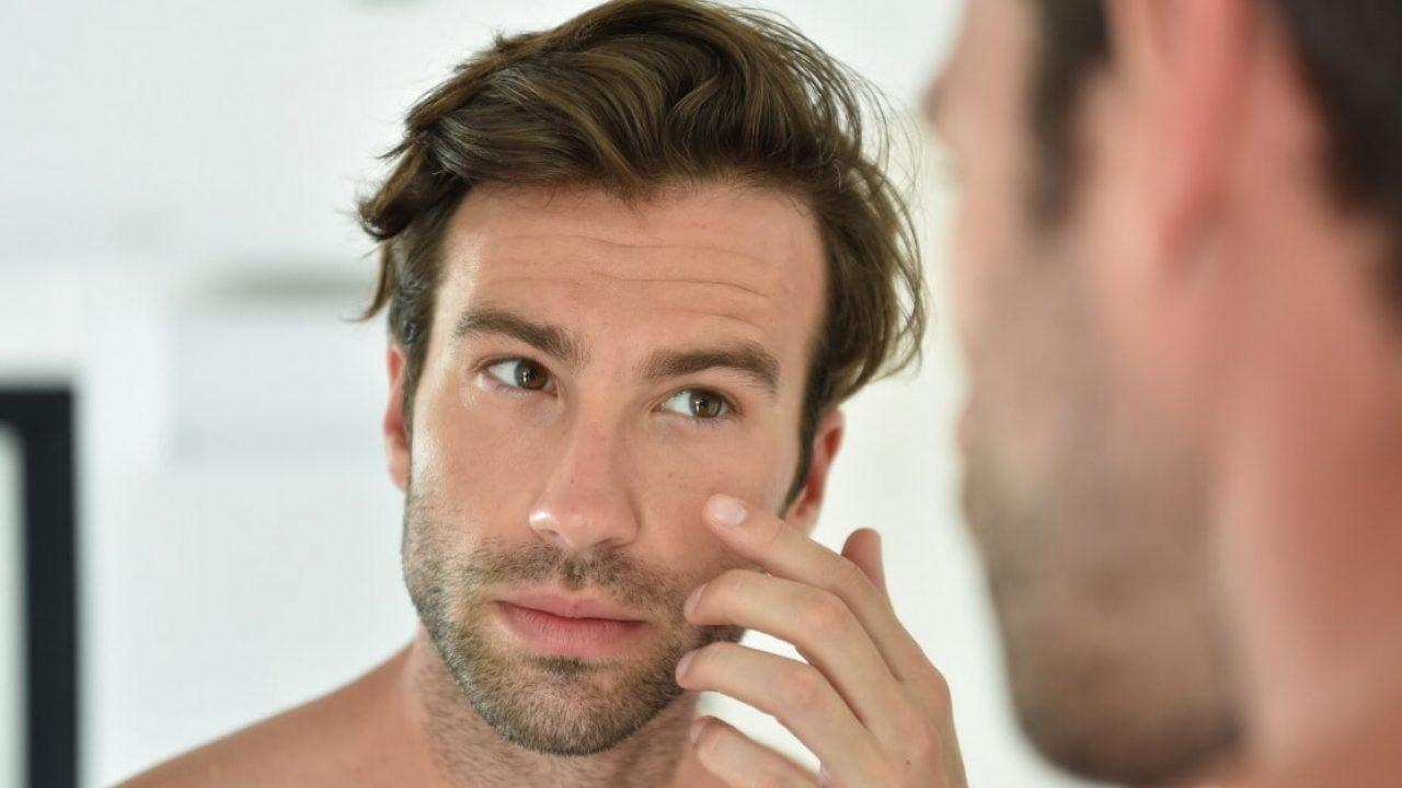 Проблеми с кожата на лицето при мъжете