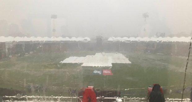 پاکستان اور سری لنکا کے درمیان پہلا میچ بارش کے باعث منسوخ